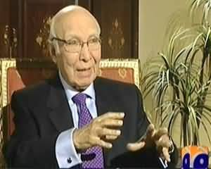 Jirga with Saleem Safi (Sartaj Aziz Exclusive Interview) – 29th March 2014