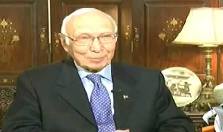 Jirga with Saleem Safi (Sartaj Aziz Exclusive Interview) – 9th November 2014
