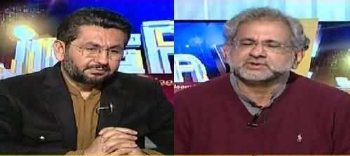Jirga With Saleem Safi (Shahid Khaqan Abbasi Interview) - 16th January 2021