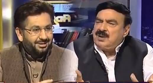 Jirga With Saleem Safi (Sheikh Rasheed Exclusive Interview) - 20th August 2016