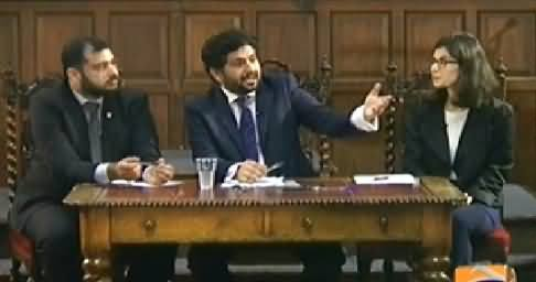 Jirga with Saleem Safi (Special Program Form Oxford Union Hall) – 8th November 2014
