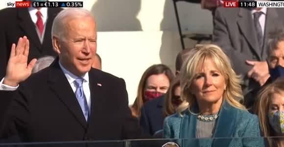 Joe Biden Takes Oath As 46th President Of The United States