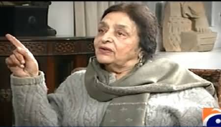Jugno (Begum Tahira Mazhar Ali Khan Special Interview) – 24th March 2015