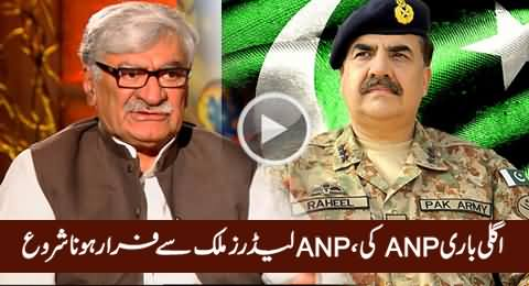 Junaid Saleem Reveals How ANP Leaders Escaping From Pakistan Due to Accountability