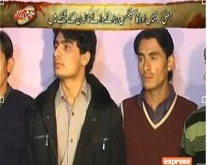 Jurm Kahani (Jali Cosmetics Banane Waley Qanoon Ke Shikanje Main) – 18th December 2013
