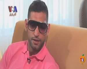Kahani Pakistani on VOA News (Boxer Amir Khan) – 16th June 2015