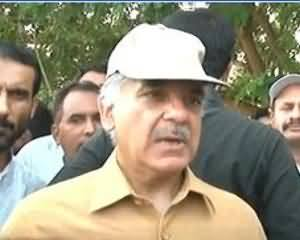 Kal Tak - 21st August 2013 (Sailaab Per Wazeer-e-Ala Punjab Shahbaz Shareef se Guftugu)