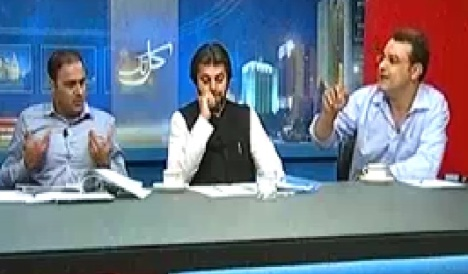 Kal Tak (Abid Sher Ali Vs Noor Alam on Load Shedding Issue) – 1st May 2014