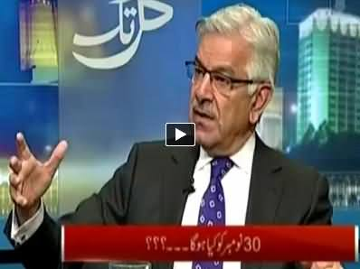 Kal Tak (Khawaja Asif Exclusive Interview With Javed Chaudhry) – 24th November 2014