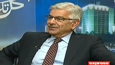 Kal Tak (Khawaja Asif Exclusive Interview with Javed Chaudhry) - 26th January 2015