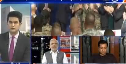 Kal Tak with Javed Chaudhry (America Ka Do More Ka Mutalba) – 22nd August 2017
