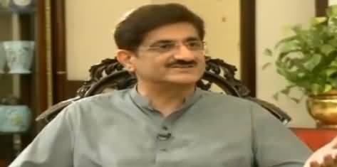 Kal Tak with Javed Chaudhry (CM Sindh Exclusive Interview) – 11th April 2018