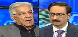 Kal Tak with Javed Chaudhry (Khawaja Asif Exclusive Interview) - 13th February 2020