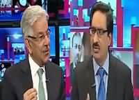 Kal Tak with Javed Chaudhry (Khawaja Asif Exclusive Interview) – 25th April 2016