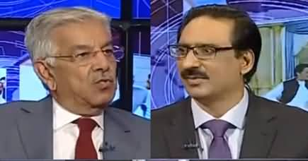 Kal Tak with Javed Chaudhry (Khawaja Asif Exclusive Interview) - 3rd October 2019
