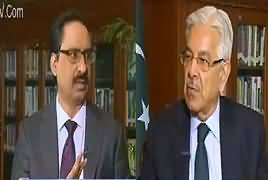 Kal Tak with Javed Chaudhry (Khawaja Asif Exclusive Interview) – 7th February 2018