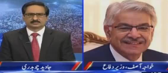 Kal Tak with Javed Chaudhry (Khawaja Asif Interview) – 2nd November 201