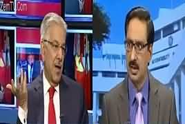 Kal Tak with Javed Chaudhry (Khawaja Asif Interview) – 9th October 2017
