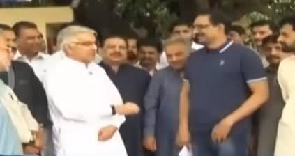 Kal Tak with Javed Chaudhry (Khawaja Asif Vs Usman Dar) – 10th July 2018