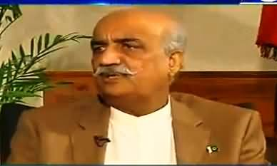 Kal Tak with Javed Chaudhry (Khursheed Shah Exclusive) – 26th July 2017