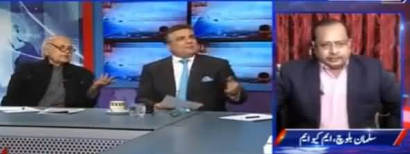 Kal Tak with Javed Chaudhry (Panama Case) – 16th January 2017