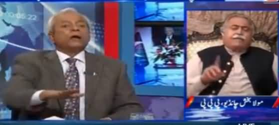 Kal Tak with Javed Chaudhry (PPP Vs PMLN) – 20th December 2016