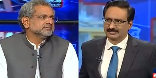Kal Tak with Javed Chaudhry (Shahid Khaqan Abbasi Interview) - 12th November 2020