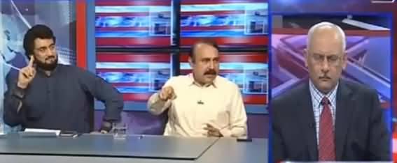 Kal Tak with Javed Chaudhry (Siasi Mahool Garm) - 12th July 2017