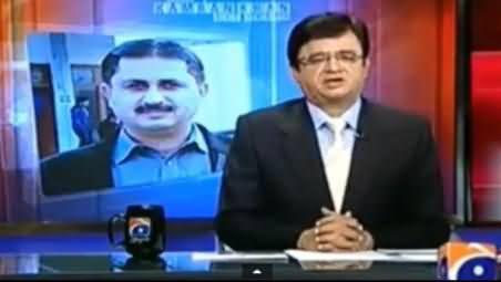 Kamran Khan Crying on Jamshaid Dasti on Exposing the Immoral Activities of Parliamentarians