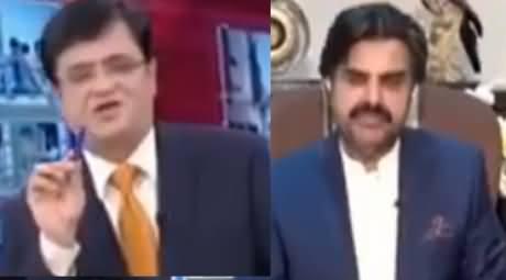 Kamran Khan Embarrassed Nasir Hussain Shah by Showing Video of His Promises