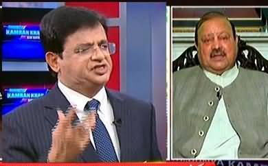 Kamran Khan Got Angry on PTI's Barrister Sultan For Saying