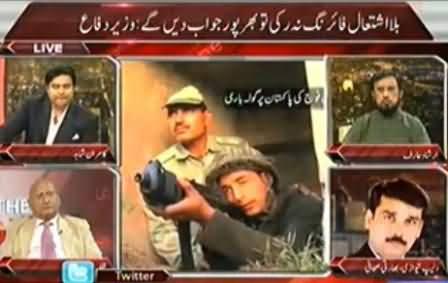 Kamran Shahid, Zafar Hilaly and Hamid Gul Bashing Nawaz Sharif & Narendra Modi