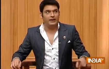 Kapil Sharma Badly Making Fun of Sensational Style of Indian Media