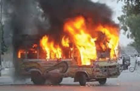 MQM Shuts Down the Karachi on the Arrest of Terrorist Nadeem Sheikh - Firing in Different Areas
