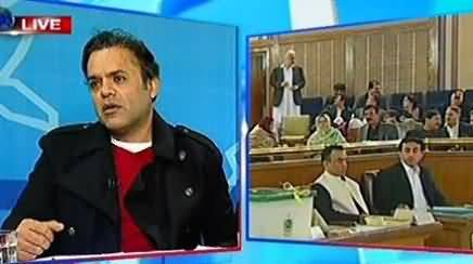 Kashif Abbasi Bashing Political Leaders on Promoting Horse Trading in Elections