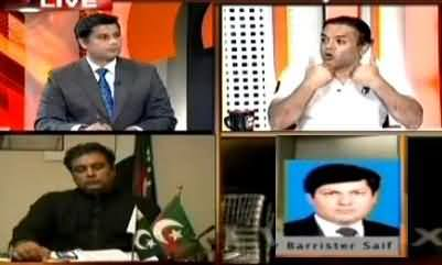 Kashif Abbasi Excellent Reply to MQM's Hui & Cry Over Rangers Operation