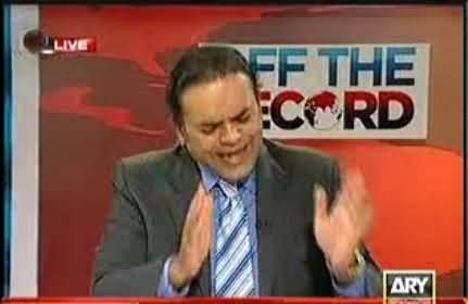 Kashif Abbasi gets Angry at Farzana Bari in Live Program on her sensitive question