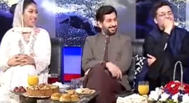 Kashif Abbasi Hote Tu Hum Un Se Pochte Ke Aap Kitni Jehadi Hain - Saleem Safi to Mehar Abbasi