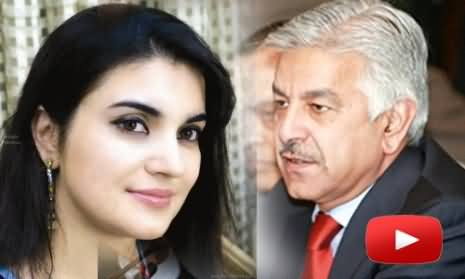Kashmala Tariq beats her uncle with shoes - Khawaja Asif pressurizes police to arrest her uncle - disclosed in Khabarnaak
