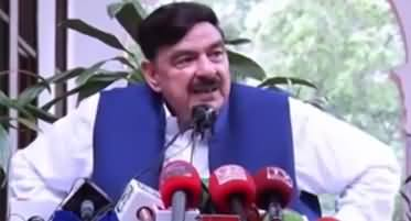 Kaun Mujh Se Shadi Kare Ga? Sheikh Rasheed on Reporter's Question