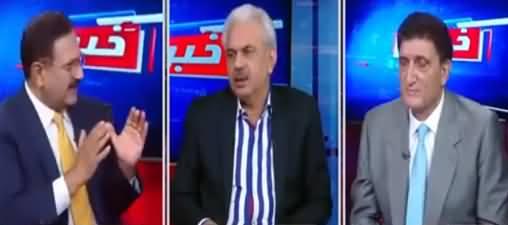 Khabar Hai (DG ISI Issue, CM Balochistan Jam Kamal) - 14th October 202
