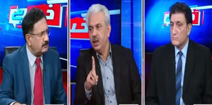 Khabar Hai (PMLN Rejects Govt's Ban on Jalsas) - 18th November 2020