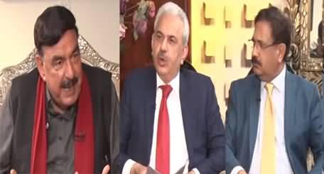 Khabar Hai (Sheikh Rasheed Exclusive Interview) - 10th March 2021