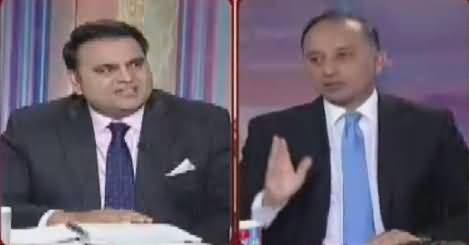 Khabar Kay Peechay Fawad Chaudhry Kay Saath – 13th March 2017