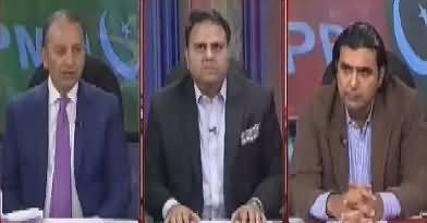 Khabar Kay Peechay Fawad Chaudhry Kay Saath – 13th March 2018