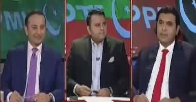 Khabar Kay Peechay Fawad Chaudhry Kay Saath (Jindal Meeting) – 27th April 2017