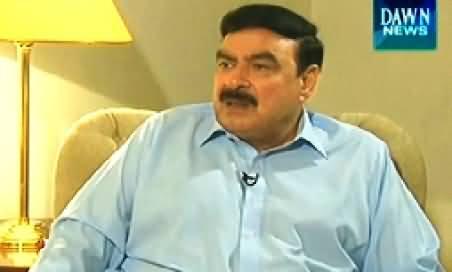 Khabar Say Khabar (Sheikh Rasheed Ahmad Special Interview) - 11th August 2014