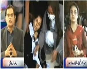 Khabar Se Agay (Police Lathi Charge and Torture on Nurses) - 14th March 2014