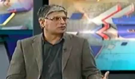 Khabar Se Agey (Fight in PPP and MQM in Sindh Assembly) - 27th January 2015