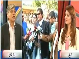 Khabar Se Agey (Forward Block in PTI and Their Demands) – 4th April 2014